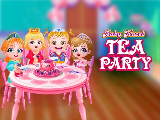Baby Hazel Tea Party Game - GirlGames4u.com