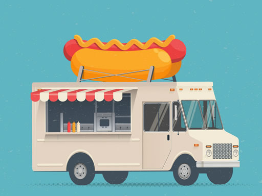 Food Trucks Jigsaw