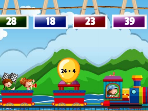 Math Train Addition