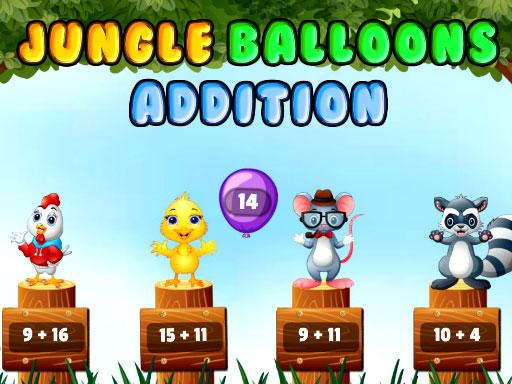 Jungle Balloons Addition