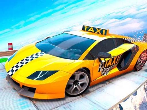 Real Taxi Car Stunts 3D Game