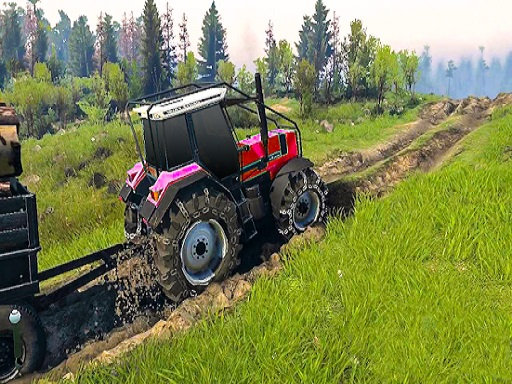 Real Chain Tractor Towing Train Simulator