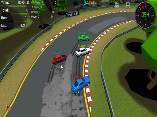 Fantastic Pixel Car Racing Multiplayer