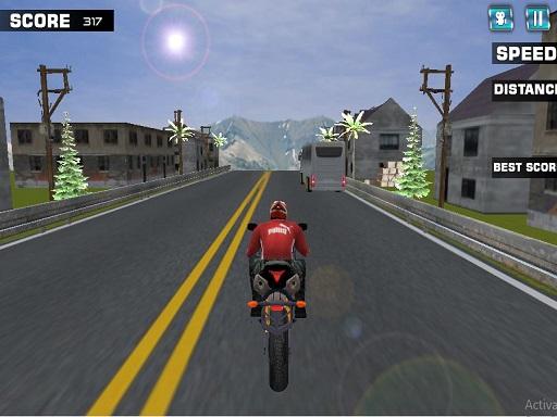 Highway Rider Motorcycle Racer Game