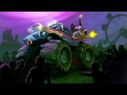 Zombie Smash  Monster Truck Racing Game