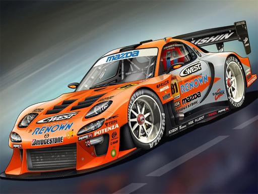 Race Car Slide