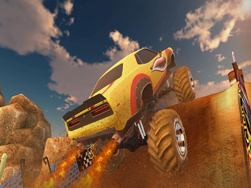 Ultimate MMX Heavy Monster Truck  Police Chase Racing