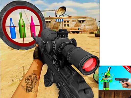 Sniper Bottle Shooting Game