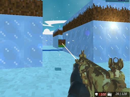 Blocky Swat Shooting IceWorld Multiplayer